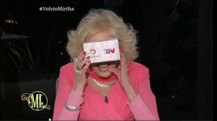Mirtha Legrand en Mar del Plata