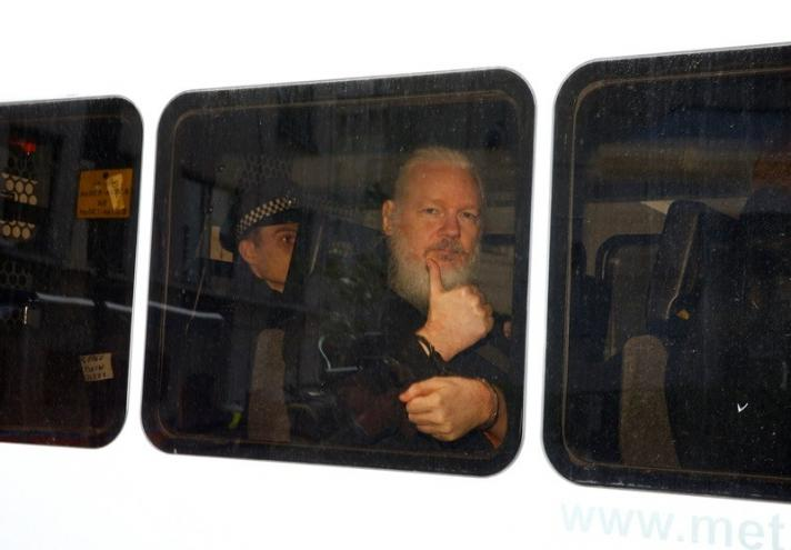 Arrestaron a Julian Assange